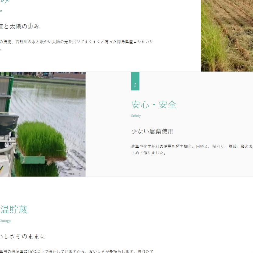 徳島県の格安ホームページ制作-ワンページ-